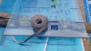 tasma paroprzepuszczalna 300x169 Szklarnie z poliwęglanu – budowa, wady i zalety