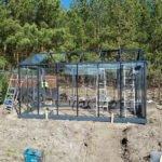 05 6 150x150 Szklarnia ogrodowa Lisówki