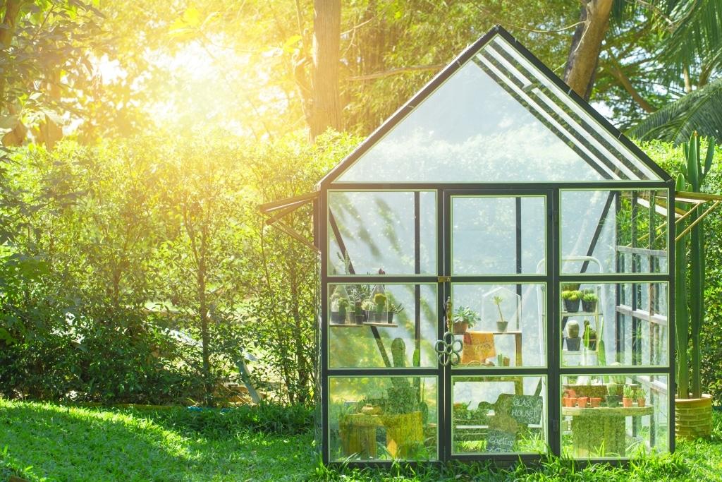 szklarnia w ogrodzie 1 Ciesz się świeżymi warzywami nie tylko latem!